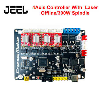 New GRBL 4Axis Stepper Motor Controller Control Board With Offline/300W 500W Spindle USB Driver Board For CNC Laser Engraver - Category 🛒 Tools