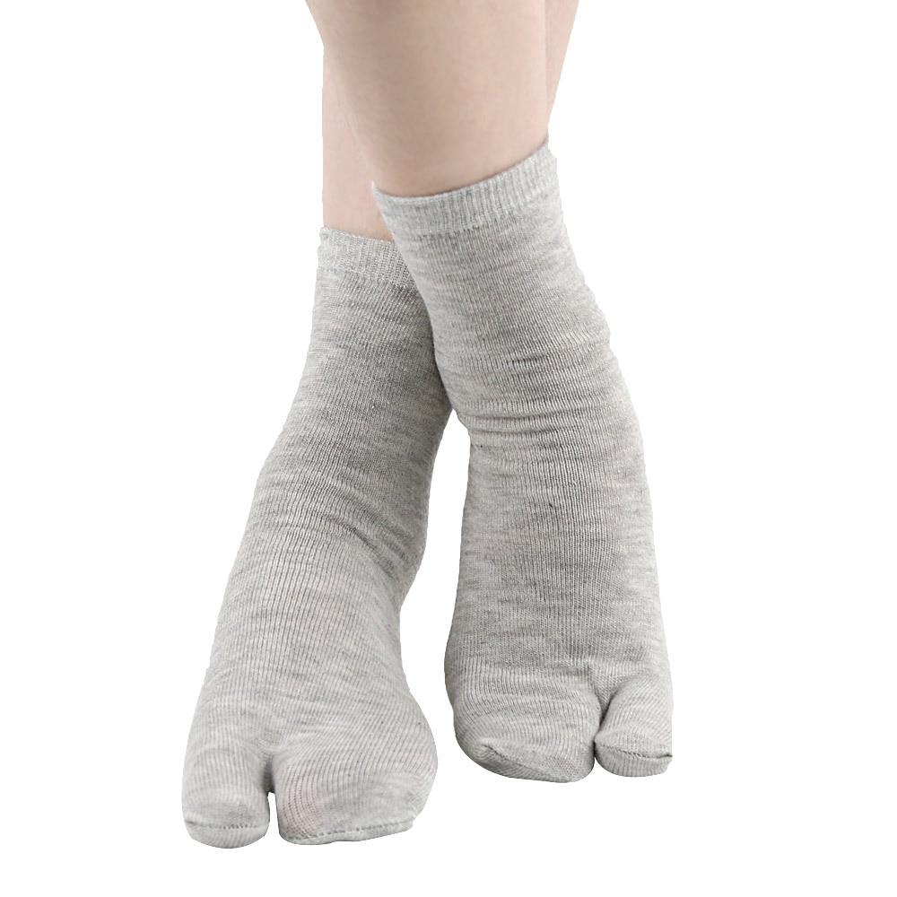 1 Pair Orthotics Separators Two Toe Socks For Toes Bunion Corrector Orthopedic Hallux Valgus Correction Ectropion Sock