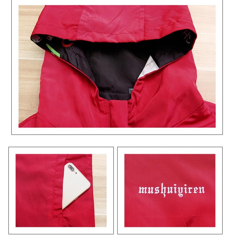 H50135b08e9f94f7da9495f24ccb3be56a Streetwear Hooded Printed jacket women And Causal windbreaker Basic Jackets 2019 New Reversible baseball Zippers jacket 4XL