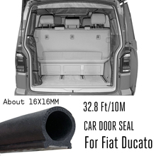 Dรูปร่าง 10MรถซีลStrip EPDMยางSoundproofหน้าต่างBOOT TrunkสำหรับFiat Ducato 250 290 Peugeot BOXER Citroen Relay