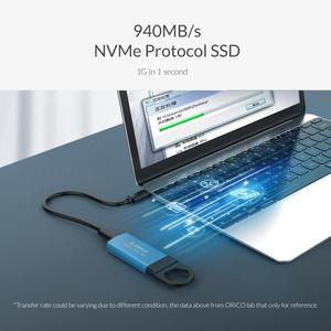 Image 3 - Orico Mini Externe Ssd 1Tb 128Gb 256Gb 512Gb M2 Nvme Harde Schijf Mobiele Draagbare Ssd Usb C 3.1 10Gbps Externe Solid State Drive