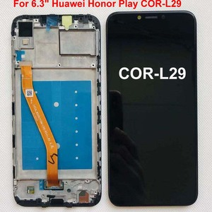 "Image 2 - 6.3 ""aaa para huawei honor play COR L29 display lcd digitador da tela de toque assembléia para huawei honor play lcd original + quadro"