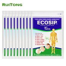 50 sztuk/partia wietnam Ecosip Herb tynk leczenie choroba zwyrodnieniowa kości yperplazja samoprzylepne reumatyzm ulga w bólu łatka