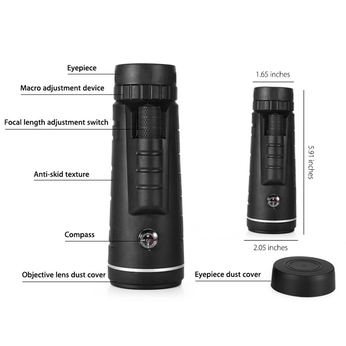 telescope telephoto zoom photo camera lens for smartphones detailed description
