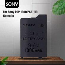 Novo 3.6v sony 1800mah bateria recarregável de íon de lítio para psp1000 psp 1000 PSP-110 console gamepad baterias de substituição