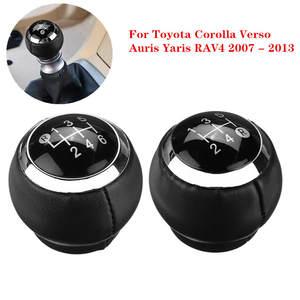 Pomello del cambio automatico a 6 marce testa del pomello del cambio per Toyota Corolla 1.8MT YARIS AURIS AYGO