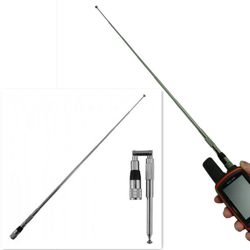 VHF  telescopic long range 1meter length strong signal antenna for gps gamin astro 320 antenna astro 220 alpha100