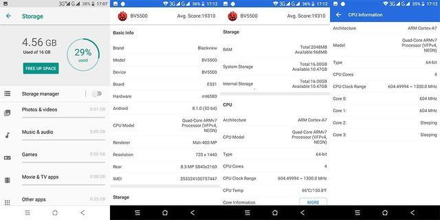 "Blackview BV5500 IP68 Waterproof shockproof Mobile Phone Android 8.1 rugged 3G Smartphone 5.5"" 2GB+16GB Dual SIM cell phones 23"