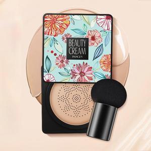 Bb Air Cushion Mushroom Head Air Cushion Cc Cream Concealer Whitening Makeup Korean Waterproof Brighten Face Base Tone