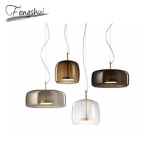 Modern Glass Pendant Lights LED Hanging Lamp Living Room Pendant Lamp Lighting Kitchen Bedroom Dining Room Loft Hanging Lights pendant lamp glass hanging led glass lights hand blown glass shade for dining living room bedroom salon senior clubs dh8611