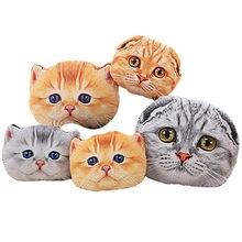 40/50 см мягкая подушка для сидения милый кот автомобильные
