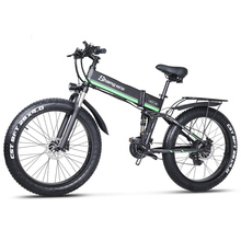Electric Bicycle Ebike Lithium-Battery Fat-Tire Mountain-Cycling Shengmilo 1000W Adult