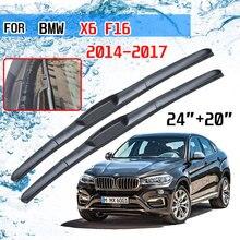 Für BMW X6 F16 2014 2015 2016 2017 Zubehör Vorne Auto Windschutzscheibe Scheibenwischerblatt Pinsel Cutter U Typ J haken