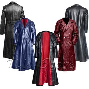 Jacket Cosplay Trench-Coat Edwardian-Steampunk Victoria Prince Renaissance Men Frock