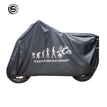 Premium Motorrad Abdeckung Fahrrad Alle Saison Wasserdichte Staubdicht UV Schutz Outdoor Indoor Moto Roller Motorrad Regen Abdeckung