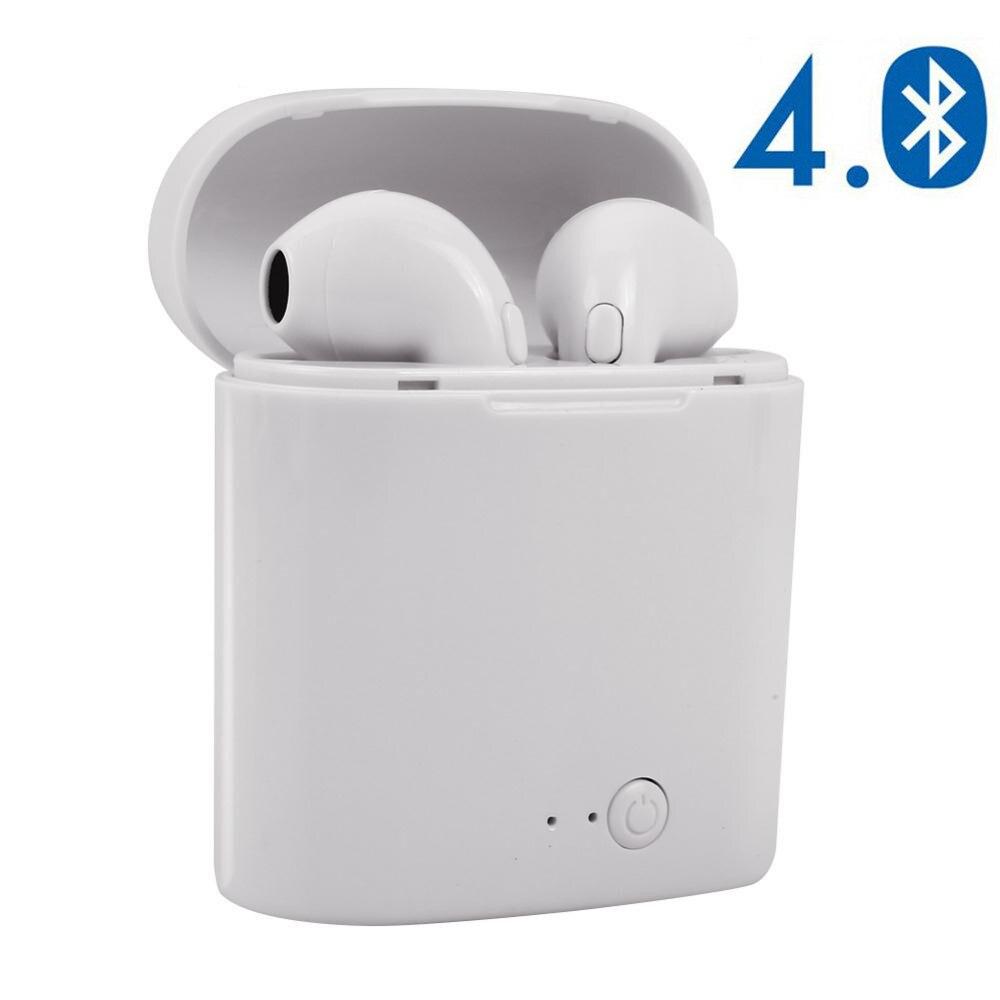 I7s Tws Bluetooth Earphones Mini Wireless Earbuds Sport Handsfree Earphone Cordless Headset With Charging Box For Xiaomi IPhone