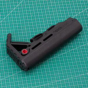 Image 5 - High Quality Tactical Nylon Stock for Gel Blaster Airsoft Air Guns JinMing8 JinMing9 AR15/M4 M16 Mini Toy Paintball Accessories