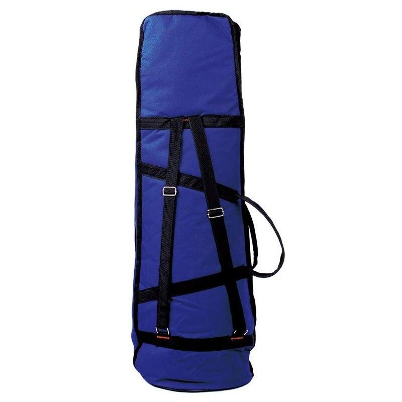 Water-Resistant Trombone Gig Bag Oxford Cloth Backpack Adjustable Shoulder Straps Pocket 5mm Padded For Alto/Tenor Trombone
