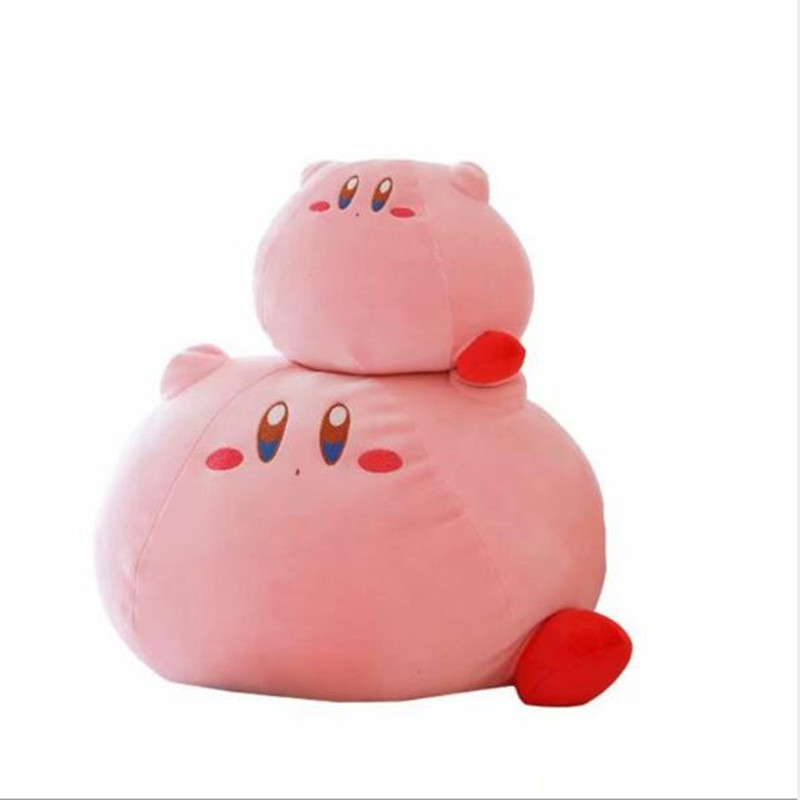 New Game Kirby Adventure Kirby Plush Toys Soft Stuffed Dolls For Kid Birthday Gift Home Decor image
