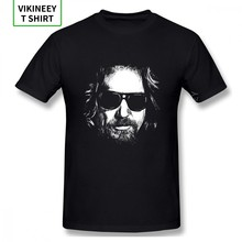 Camiseta Unisex The Dude Jeff Bridges Big Lebowski 2020 para hombre, Camiseta de algodón orgánico de gran tamaño(China)