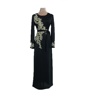 Image 5 - Dubai Muslim Prayer Dress For Women Moroccan Turkey Bangladesh Oman Islamic Clothing Robe Hijab
