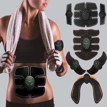 محفز العضلات إي إم إس تحفيز عضلات البطن إليكترومولاتور ABS محفز اللياقة البدنية الكهربائية مكافحة مُدلك سلوليت