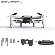 PGYTECH 3 sztuk dla DJI Mavic Mini zestaw do lądowania rozszerzenie + pilot straży + obiektyw gimbal kaptur