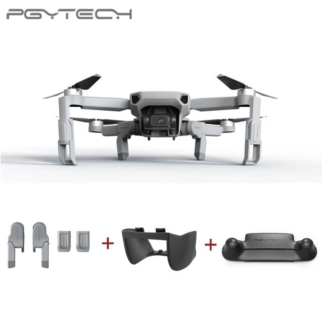 PGYTECH 3PCS For DJI Mavic Mini Landing Gear Extension +  Remote Control Guard + Gimbal Lens Hood