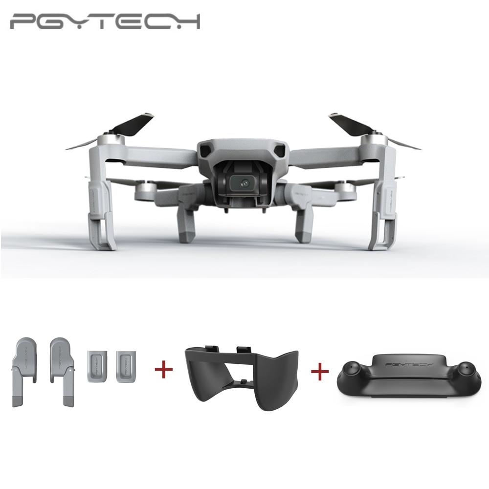 PGYTECH  For DJI Mavic Mini Landing Gear Extension  Propellers Motor Holder Fixator Remote Control Guard Gimbal Lens Hood