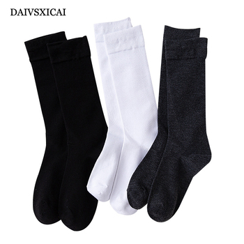 3Pairs/lot=6Pieces Autumn Winter Long Tube Socks Ladies Vertical Strip Female Fashion Socks Cotton Wild Women Casual Socks