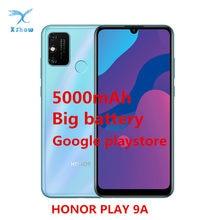 Honor Spielen 9A Smartphone Honor 9A Spielen Große Batterie 5000mAh 6,3 zoll MT6765 Octa Core Fingerprint ID Android 10 handys