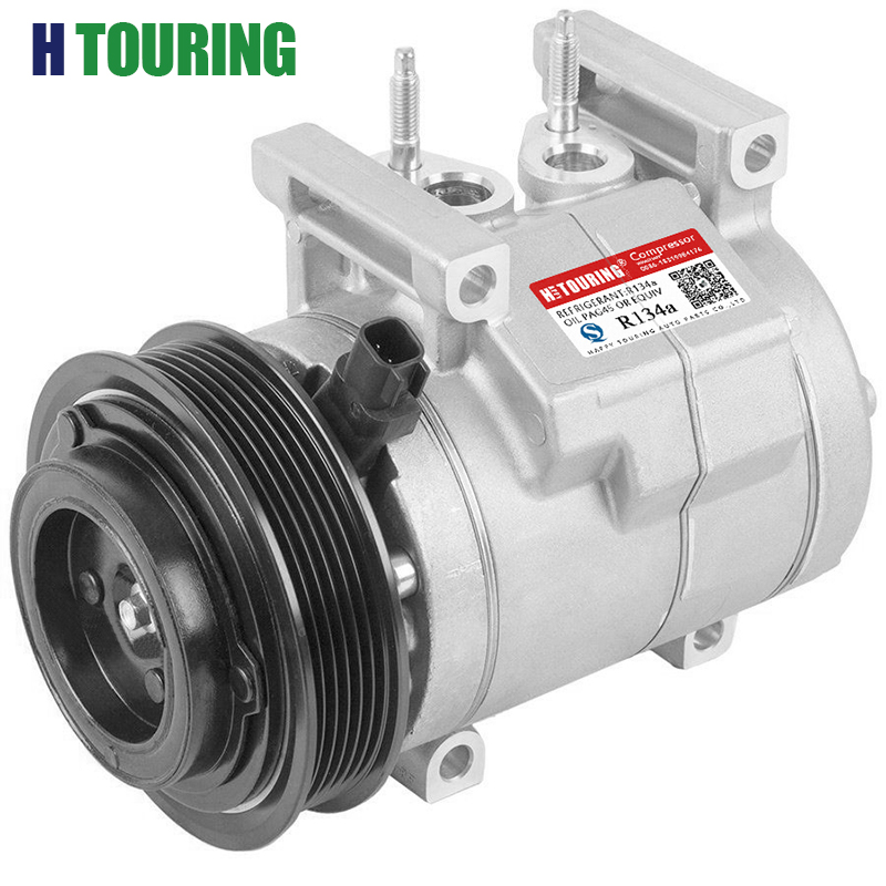 For Car Dodge Charger Durango Chrysler 300 Jeep Grand Cherokee RS18 AC Compressor ac 68021637AD 68021637AE 68021637AF 68058043AB|Air-conditioning Installation| |  - title=