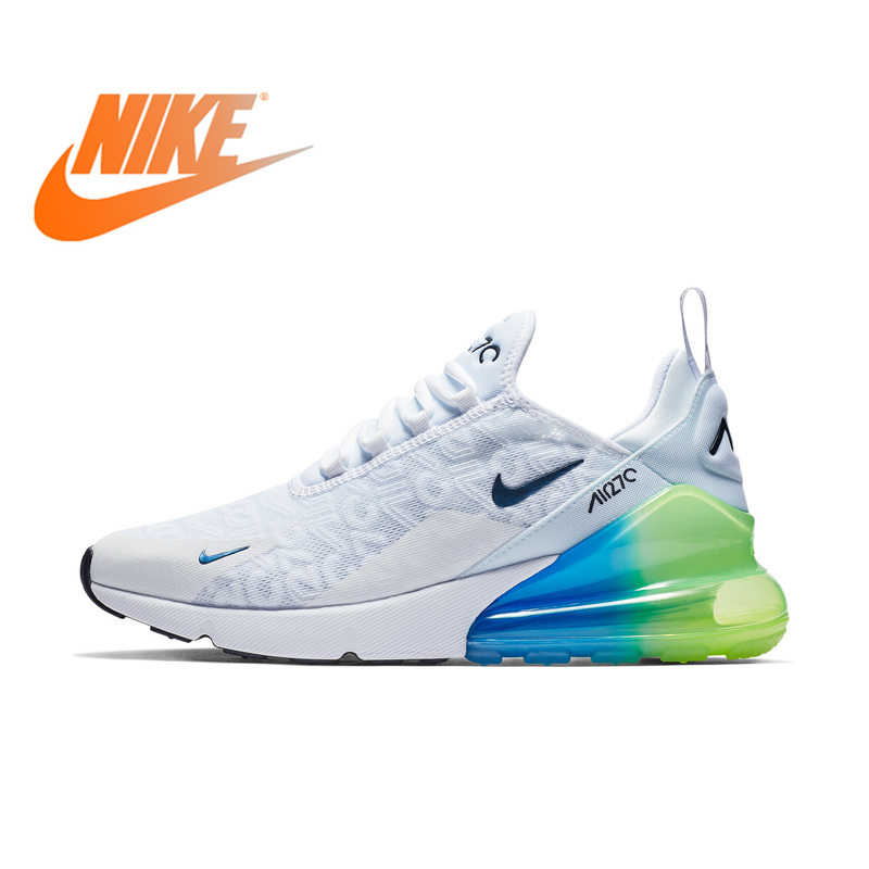 Original Authentic Nike Air Max 270 Men's Running Shoes Sports Outdoor Sneakers Comfortable Breathable 2019 New Arrival AQ9164