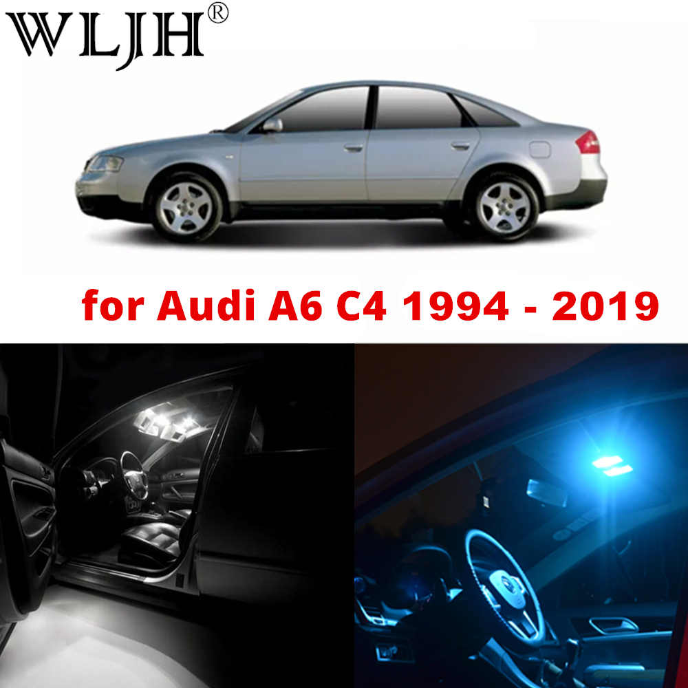 2x LED Side Light Beam Parking Bulbs Error Free Canbus For Audi A6 4F2 C6