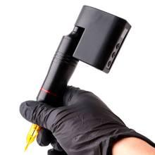 Mini profissional sem fio tatuagem power rca dc conector para rotativo caneta máquina suprimentos portáteis