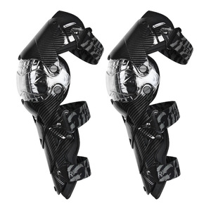 Image 2 - Motorcycle carbon fiber knee pads four seasons knight riding anti fall motorcycle off road protective gear leggings equipment