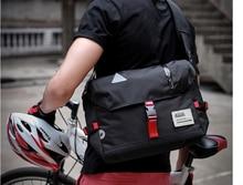 casual Shoulder Cloth Briefcase Men Personality Reflective Commuter Bag Men's Design All-match Work Bags Bolso Hombre D948