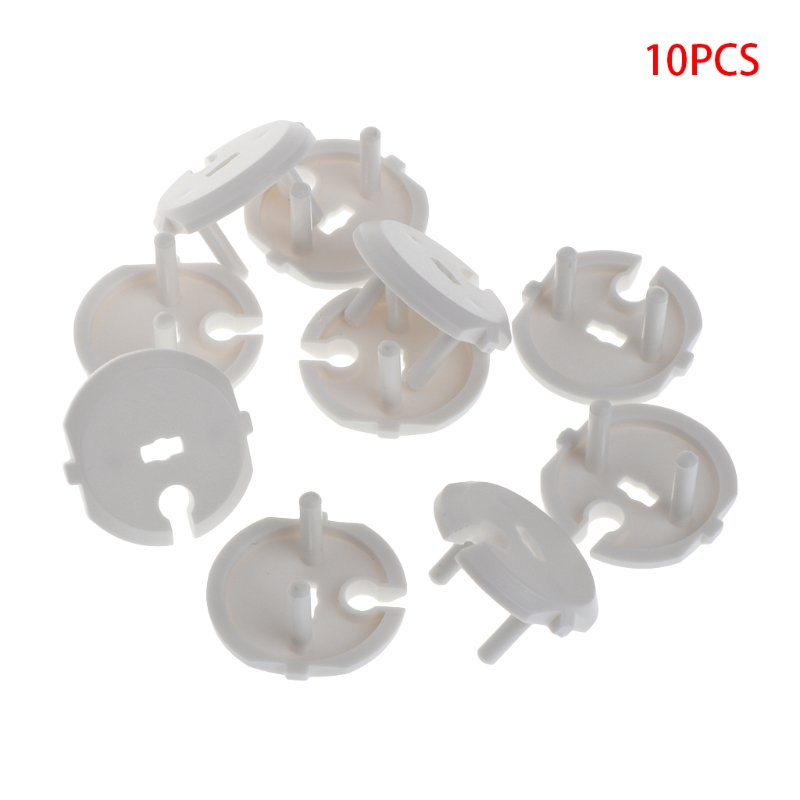 10Pcs/Lot French Standard Baby Safety Plug Socket Protective Cover Children Care Q1FE