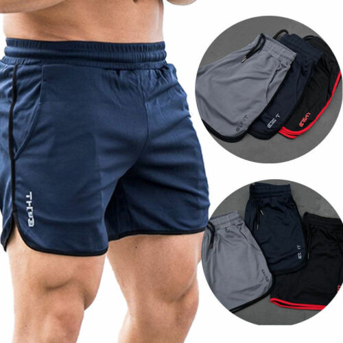 Men GYM Shorts Training Running Sport Workout Casual Jogging Trousers 2019 Mens Beachwear Shorts Casual Short Hot Sale