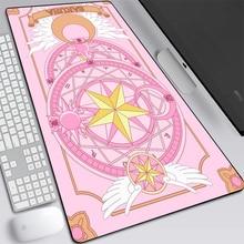 Large Rubber Gaming Mat Anime Sailor Moon Big Mouse Pad Speed Kawaii XL MousePad Keyboard Locking Edge Otaku Computer Desk Pad