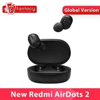 Global Version Xiaomi Redmi AirDots 2 Mi True Wireless Earbuds Basic 2 Earphone TWS Low Lag Mode Bluetooth Headset Auto Link