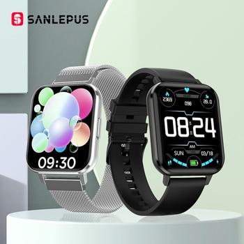 SANLEPUS 2020 NEW Smart Watch Sport Heart Rate Monitor Waterproof Fitness Bracelet Men Women Smartwatch For Android Apple Xiaomi
