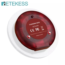 1 Pcs Charging Base For Retekess T119 Restaurant Pager Wireless Calling System For Restaurant Coffee Shop Church Clinic