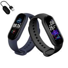 M5 inteligentny zegarek mężczyźni kobiety pulsometr pomiar ciśnienia krwi opaska Smartwatch 5 sportowy zegarek dla IOS Android tanie tanio MissionFit CN (pochodzenie) Android OS Na nadgarstku Wszystko kompatybilny 128 MB Passometer Fitness tracker Uśpienia tracker