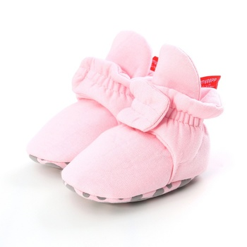 Newborn Baby Socks Boot Shoes Boy Girl Star Toddler First Walkers Booties Cotton Comfort Soft Anti-slip Warm Infant Crib Shoes toddler non slip boot socks newborn kids baby girl cute cartoon warm anti slip socks bebe girl funny infant ankle sock new 2019