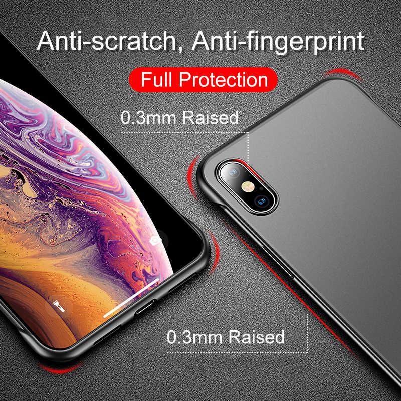סיליקון ללא שפה מקרה עבור apple iphone 7 8 6 6s בתוספת xr xs מקסימום x 10 מגן מעטפת כיסוי iphoen iphon aphone xsmax rx sx coque