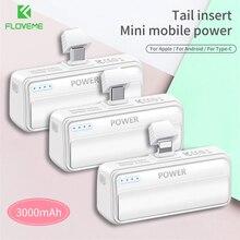 FLOVEME 3000mAH Pocket Mini Power Bank for Xiaomi Mi Portabl
