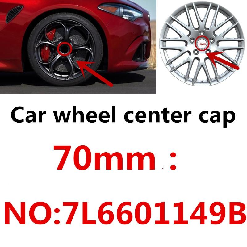 "4PCS 2.2/"" 56mm Red GTI Aluminum Car Wheel Center Hub Cap Sticker for VOLKSWAGEN"