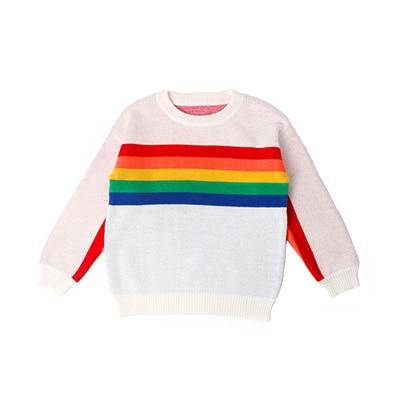 1 -6Yrs Baby Girls Sweater Autumn Winter Baby Boy Sweater Boys Girls Stripe Children Clothes Children Clothing 10