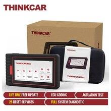 THINKSCAN MAX – Scanner automatique professionnel de voiture, tout système, Test actif, codage ECU, 28 Reset, lecteur de Code OBD2, outils de Diagnostic